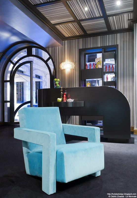 les plus beaux hotels design du monde la monnaie art spa hotel by philippe lucazeau la. Black Bedroom Furniture Sets. Home Design Ideas
