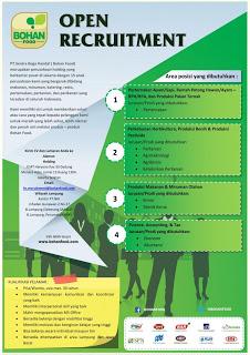 Info Lowongan Karir Terbaru Di Pt Sentra Boga Handal Lampung 2016