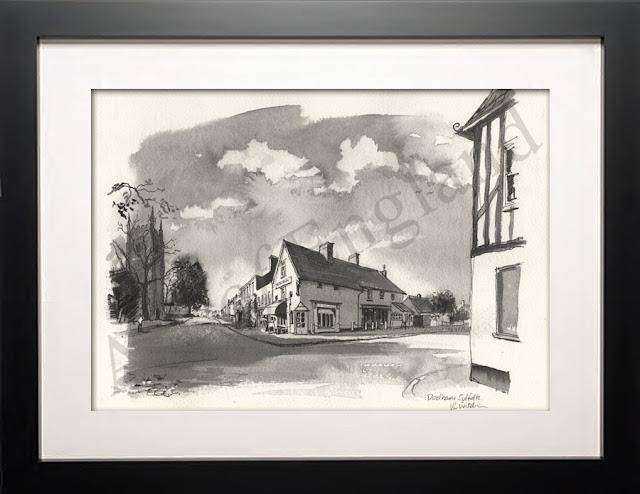 Dedham Essex illustration