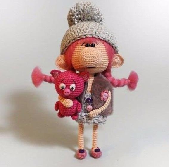 Екатерина клепикова вязанные игрушки