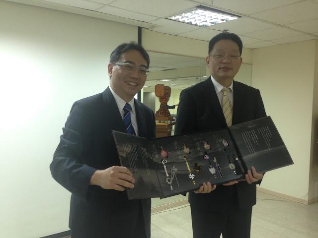 上海市台辦經濟處訪問團