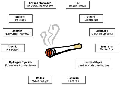 Kandungan Asap Rokok Kandungan Dalam Rokok