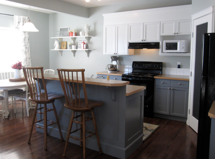 danielle oakey interiors: $400.00 Kitchen Renovation!