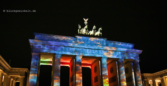 Brandenburger Tor, Berlin, Festival of Lights