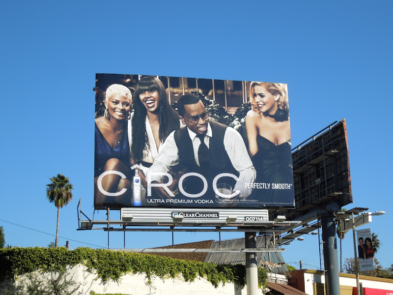 Sean Combs Ciroc Vodka billboard