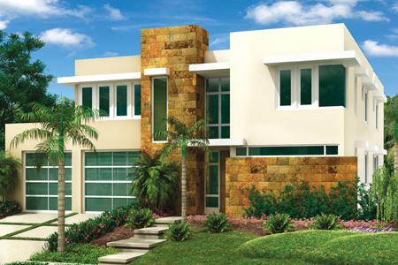 fachadas de casas modernas febrero 2012
