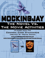 Mockingjay Novel vs. the Movie Teaching Pack