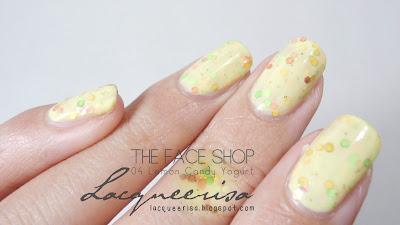 Lacqueerisa: The Face Shop, Lemon Candy Yogurt