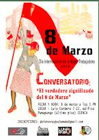 """CONVERSATORIO: """"El verdadero significado del 8 de marzo"""""""
