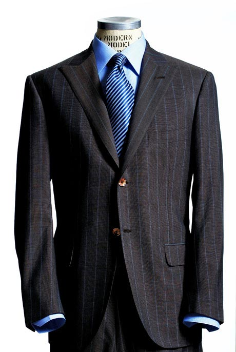 Men's Navy Blazer/Sportcoat. The classic navy blue blazer is one piece of clothing that should be hanging in every man's closet. It has the potential to be the most versatile and functional part of your wardrobe. The blazer is perfect for putting your best foot forward at a job interview or dressing up a pair of denim for a night in the city.