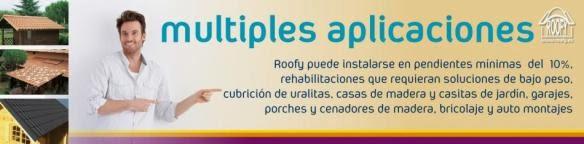 funcionalidades y aplicaciones de las telas de plastico roofy