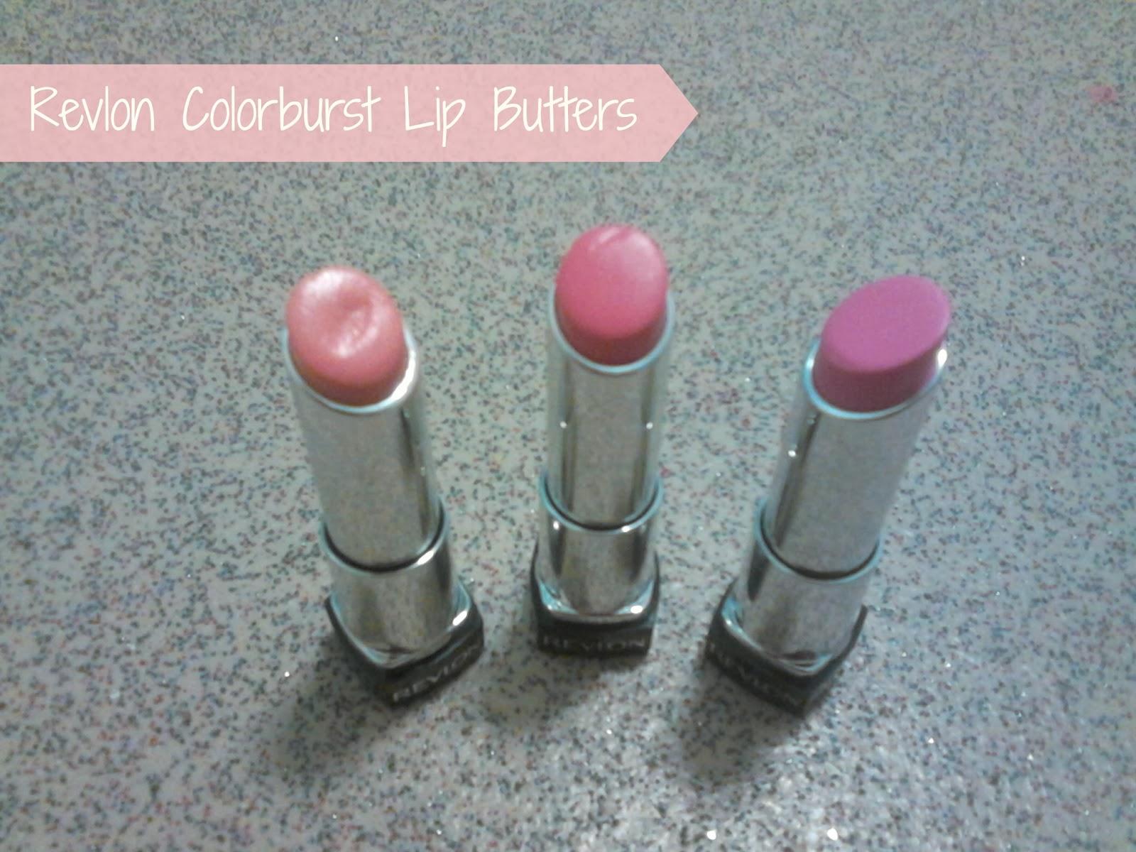 Revlon Colorburst Lip Butters