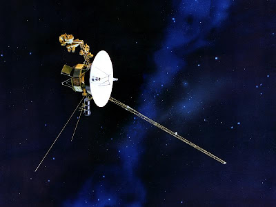 Illustration of Voyager Space Probe