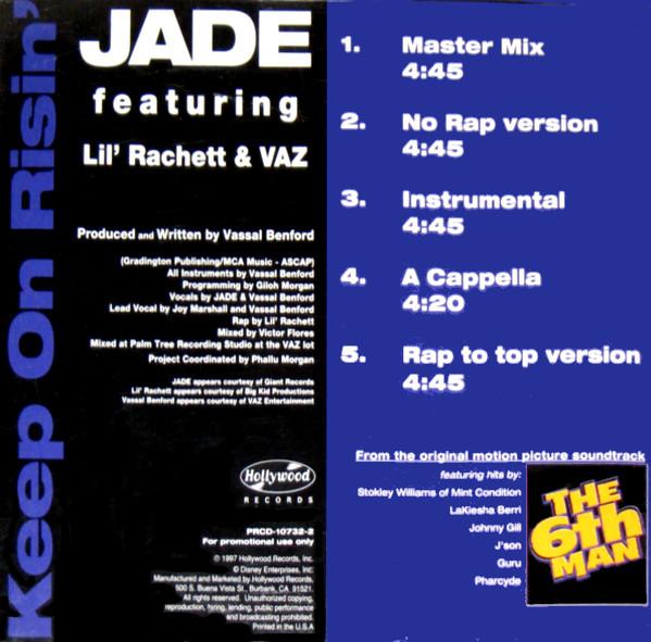 Jade  – Keep On Risin'