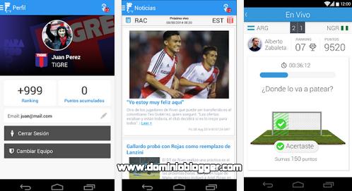Descarga la aplicación oficial de Futbol para Todos