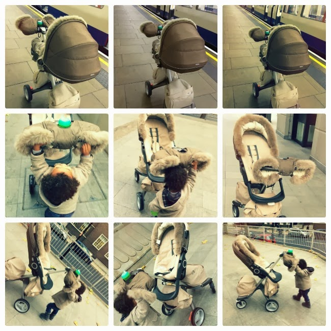 Nougat Melange Stokke Xplory 2013 Winter Kit