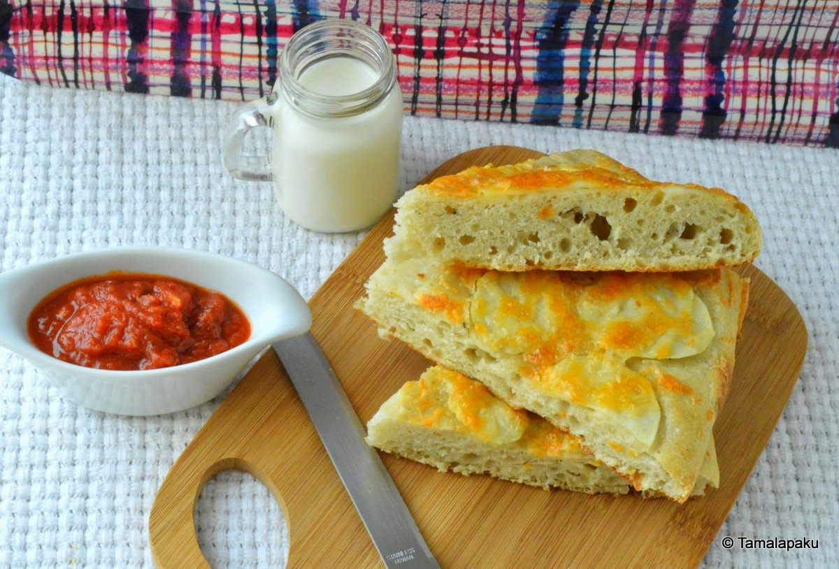 Potato Cheese Foccacia