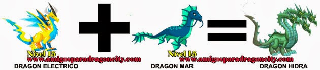 como hacer el dragon hidra en dragon city formula 2