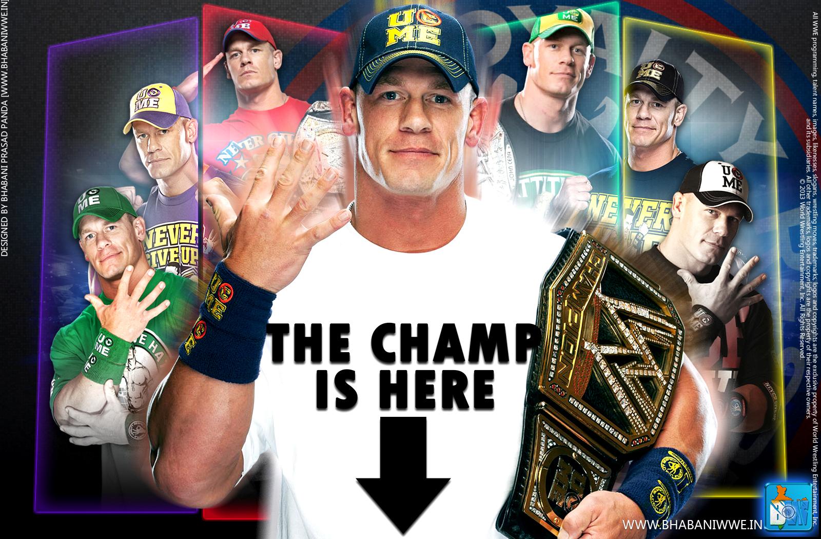 WWE John Cena Birthday Special Gift Wallpaper HD