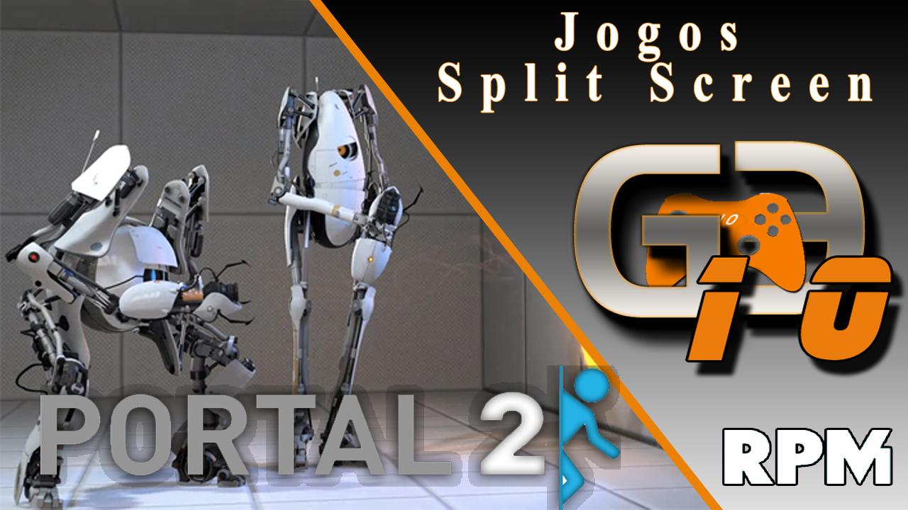 how to play splitscreen on portal 2 offline pc