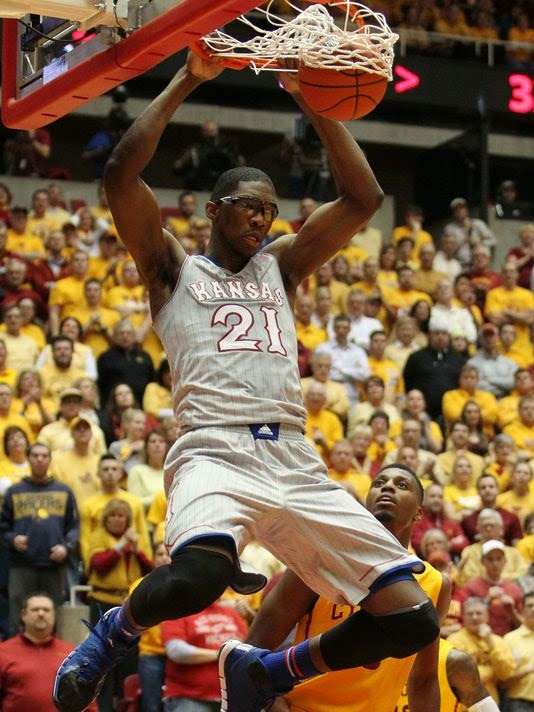 JoJo Dunks on Iowa State, Embiid, KU Jayhawks, Jayhawk Basketball