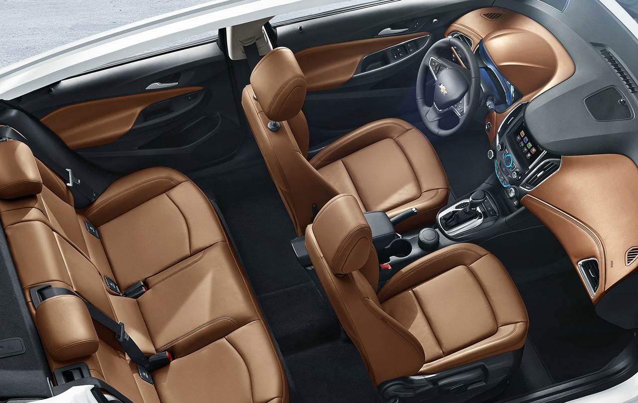 Novo Chevrolet Cruze 2016 - interior