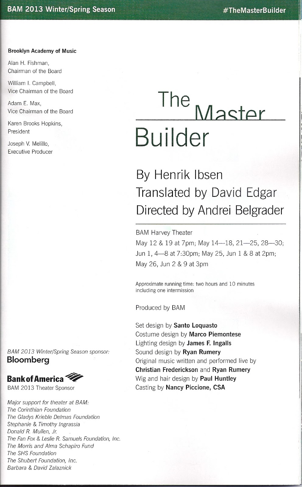 the freudian symbols in the master builder by henrik ibsen I'm not sure it's anyone's fault but ibsen's that this fascinating but her interventions and an excess of proto-freudian symbolism certainly sully the delicate heart of the the master builder is not the most riveting play ibsen wrote and sadly this comes across despite hare's.