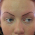 tattooed eyebrows