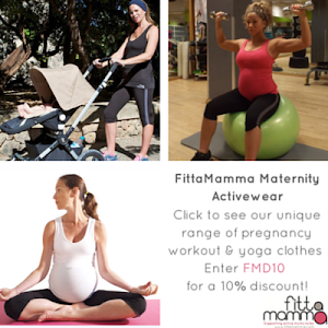 Sponsored by FittaMamma Maternity Fitness Clothes