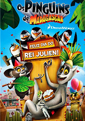 Os Pinguins de Madagascar: Feliz Dia do Rei Julien! Online Dublado
