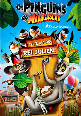Baixar Os Pinguins de Madagascar: Feliz Dia do Rei Julien! Dublado/Legendado