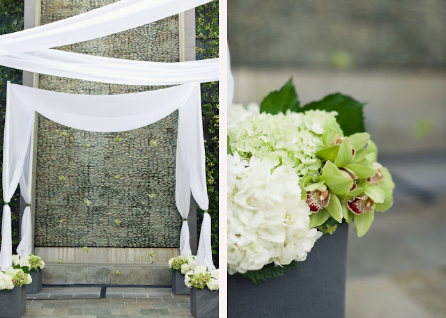 panel fabric chuppah