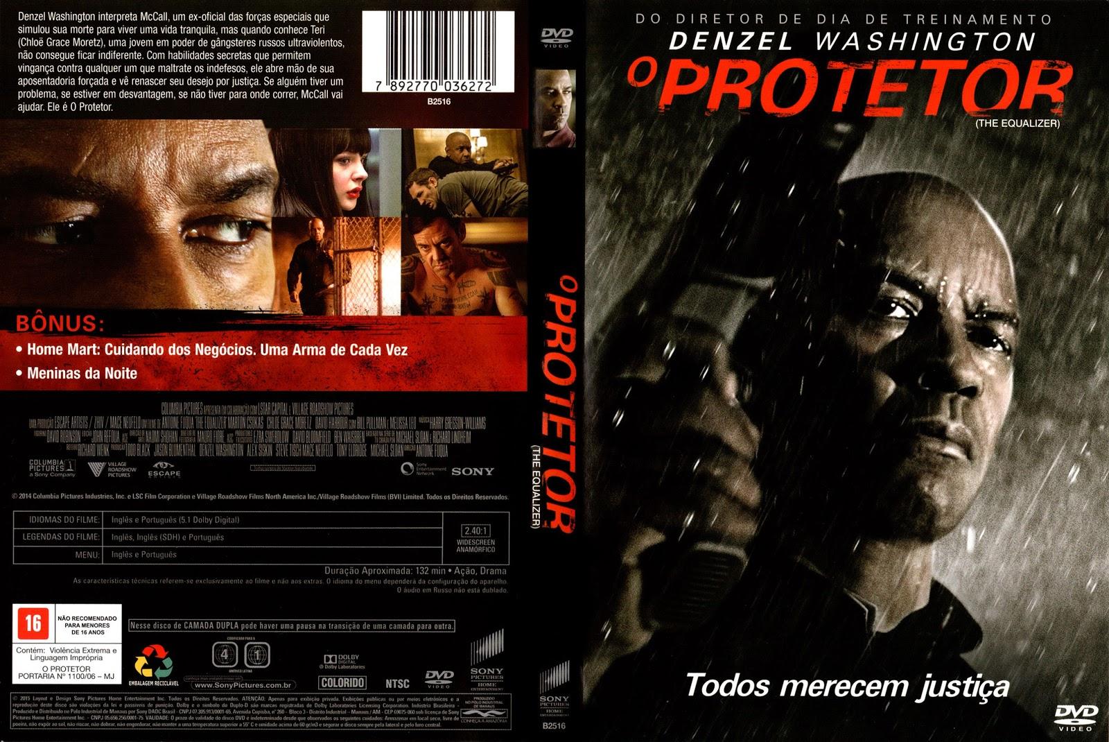 Capa DVD O Protetor