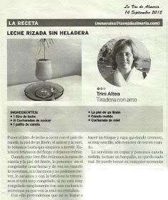 La Voz de Almería 14 de Septiembre 2012