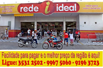 SUPERMERCADO J. EDILSON: O MELHOR PREO DA REGIO - Ligue: 3531 2502 - 9967 5060 - 9196 3723