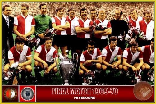 Image result for feyenoord champions 1970