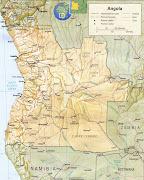 Mapa da Angola Mapas (mapa da angola )