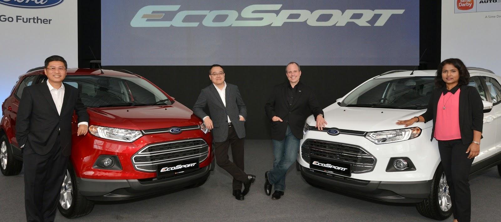 Dicipta Untuk Dunia Urban Ford EcoSport Serba Baharu Yang Kompak Cekap Dan Bergaya Kini Tiba di Malaysia