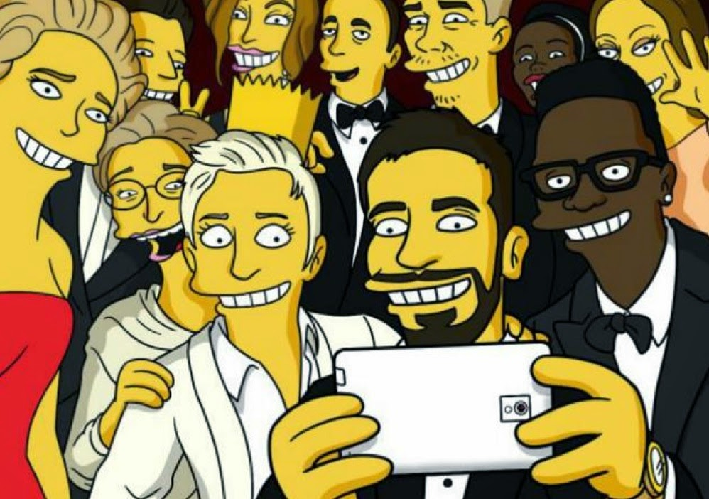 Simpsons doing it and a lot more people joining this crazy selfie trend.