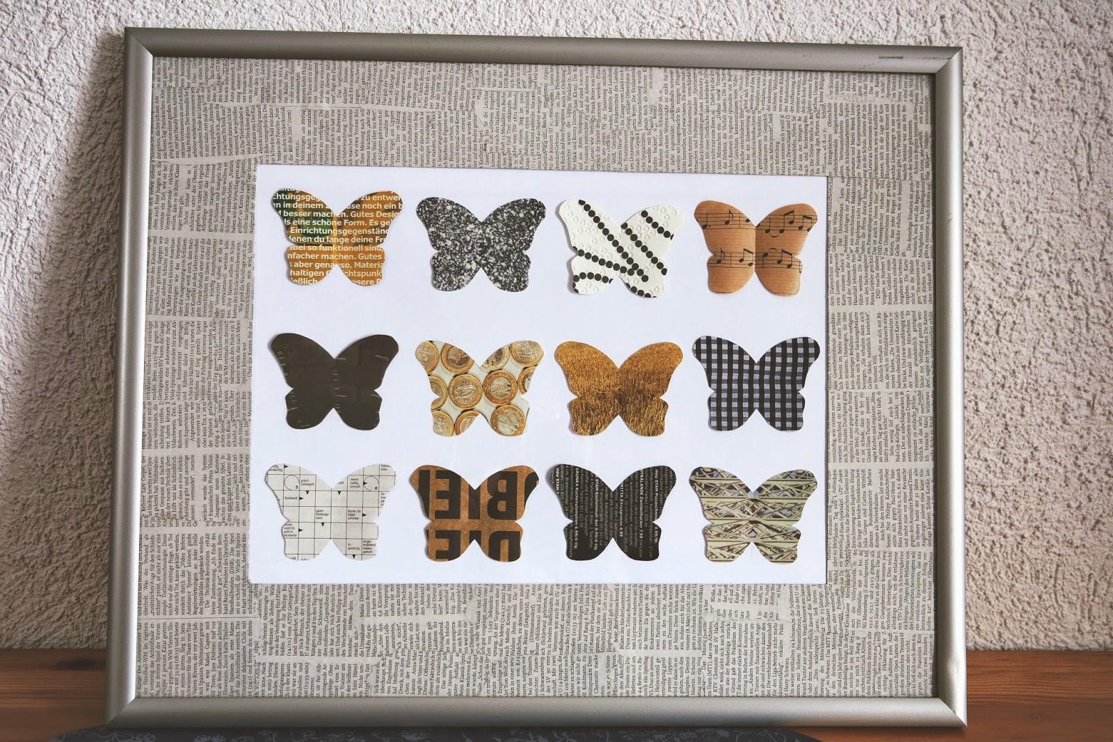 my.little.creative.world°: Schmetterlings-Bild DIY°