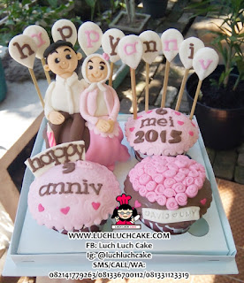 Cupcake Anniversary Cute