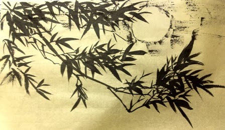 Painting bamboos