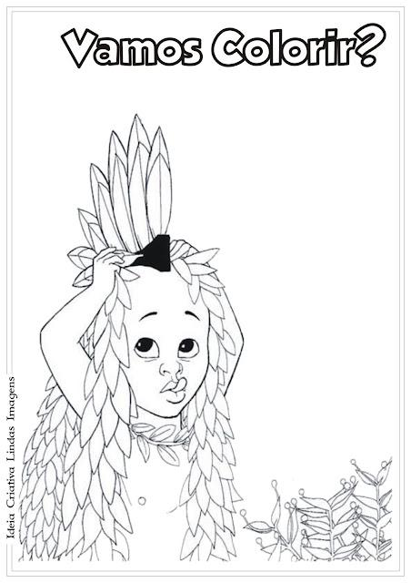 Filme Kiriku e a Feiticeira para colorir