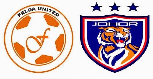 Siaran Langsung JDT vs Felda United Separuh Akhir 2 Piala Malaysia 2014