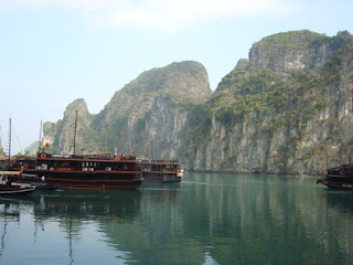 Sailing on Halong Bay Vietnam