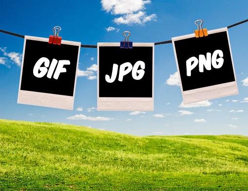 Perbedaan dan Fungsi JPG, GIF, dan PNG