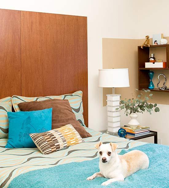 decoração usando tinta de parede, como combinar cores na decoração, decoração retrô