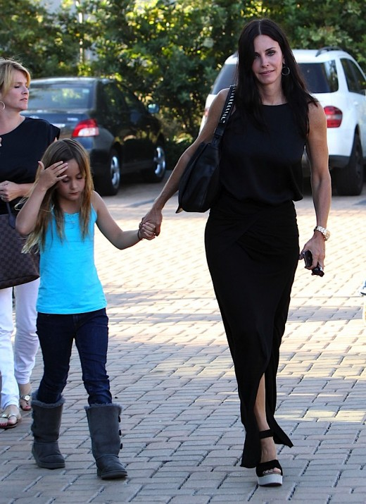Courteney Cox And Her Daughter Coco Have A Lunch Date » Gossip | Courteney Cox
