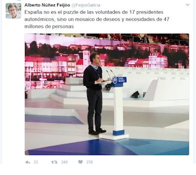 ESPAÑA NO ES UN PUZZLE DE 17 VOLUNTADES