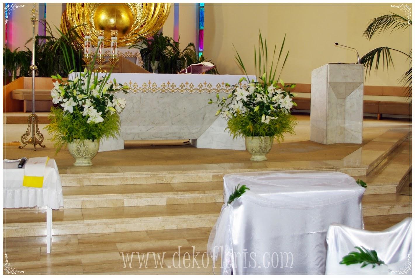 Kwiatowa dekoracja ślubna kościoła Opole